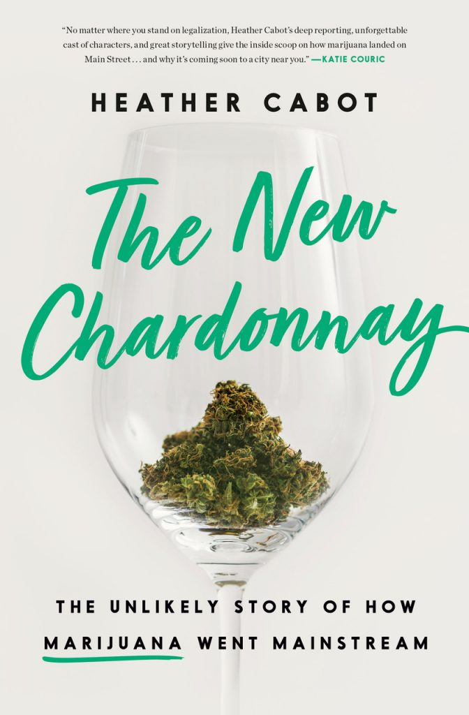 The New Chardonnay book cover with Katie Couric quote